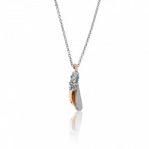 Collar Bari 2 Oros y Diamantes