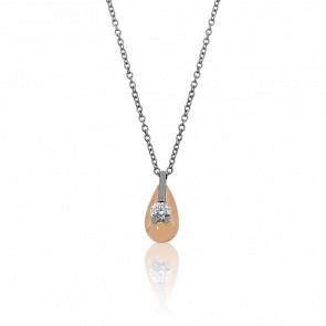 Collar Modène 2 Oros y Diamantes