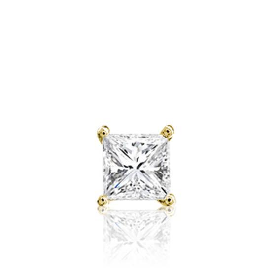 nueva estilos 7c51b 050a6 Pendiente de Oro amarillo 18k y Diamante de Hombre - Ocarat