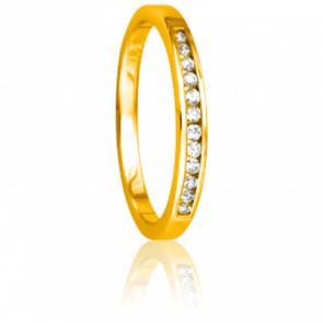 Alianza Enjoleuse Oro Amarillo  0,12 quilates
