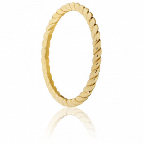 Anillo espiral Montecristo Oro amarillo