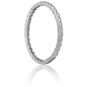 Anillo Espiral Montecristo Oro blanco