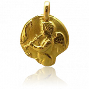 Medalla Ángel con Flauta