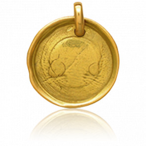 Medalla Sello de Cera Cachet de Cire