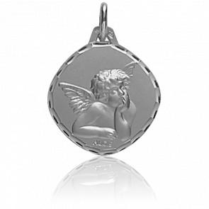 Medalla Ángel Rafael Rombo Oro Blanco