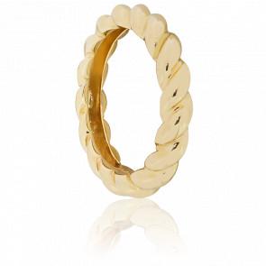 Anillo Espiral Capraia Oro Amarillo
