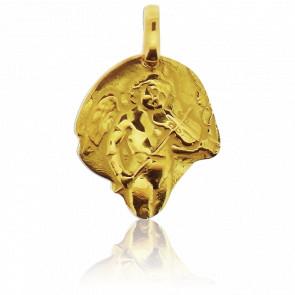 Medalla Ángel con Violín