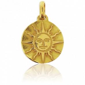 Medalla Sol de oro de 18 kt