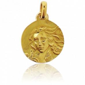 Medalla Venus Oro Amarillo 18 kt