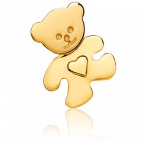 Colgante Osito & Corazón Oro Amarillo