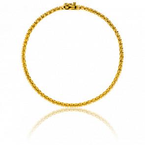 Pulsera Eclat Oro Amarillo y Diamantes