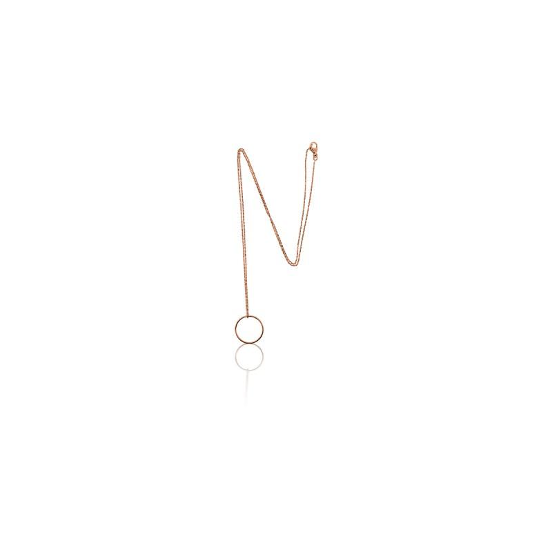 1a1445393643 Precioso Collar Oro Rosa 18 kt Círculo de Ocarat - Ocarat