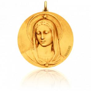 Medalla Virgen Maris Stella Redonda