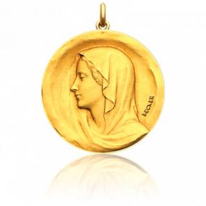 Medalla Redonda Virgen Regina