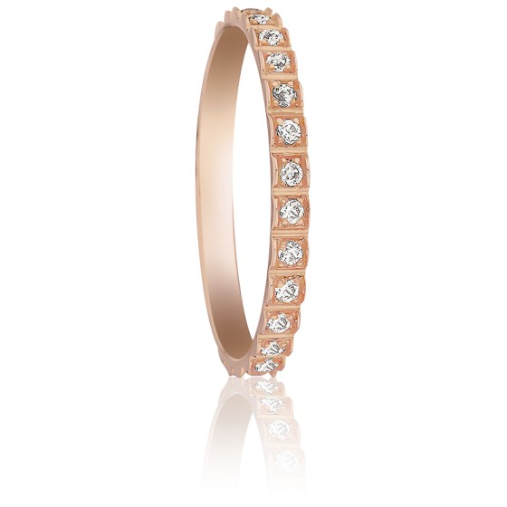 e8e07778a52e Alianza de boda Guaviare un anillo Oro rosa- Pfertzel - Ocarat