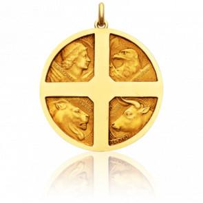 Medalla Los 4 Evangelistas