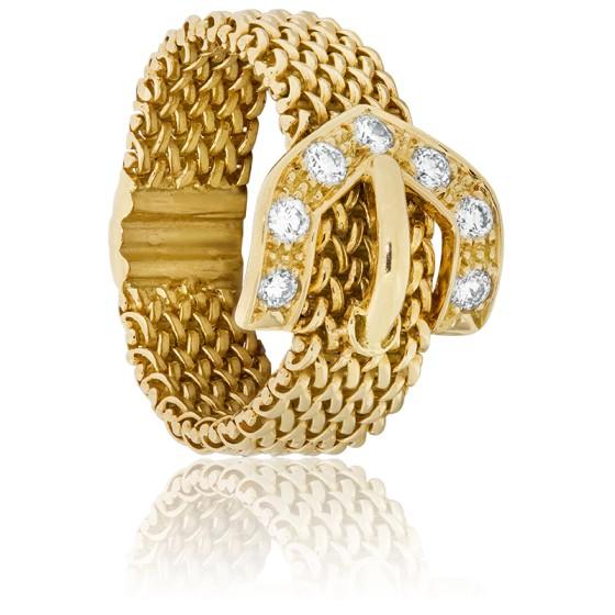 efe0311b9f69 Anillo Cinturón Oro amarillo - Ocarat