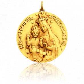 Medalla virgen del monte Carmelo