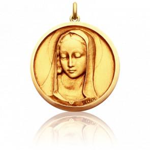 Medalla Redonda Virgen Santa Madona
