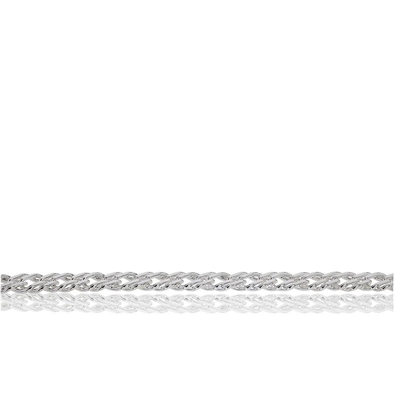 c4bdb2db0e5f Pulsera de Plata Cadena Barbada Doble - Artemis - Ocarat