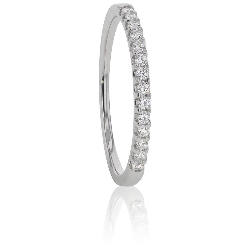 Alianza Platino y Diamantes G/SI 0,15 ct, Audley