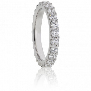 Alianza Platino y Diamantes G/VS 0.25 ct, Bianca