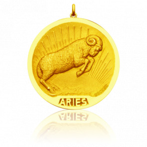 Medalla Zodiaco Aries