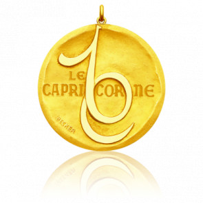 Medalla Zodiaco Símbolo Capricornio