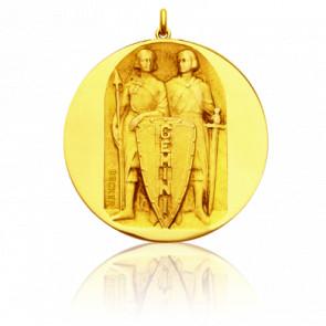Medalla Zodiaco Géminis