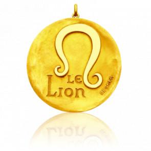 Medalla del zodiaco Signo Leo