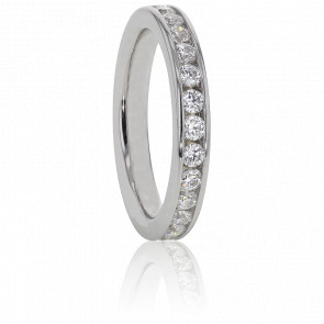 Alianza Platino y Diamantes G/VS 0.50 ct, Cinna