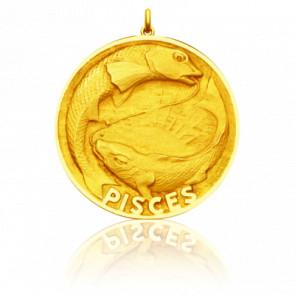 Medalla Zodiaco Piscis