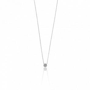 7f25007370bb Collar Oro Blanco Puente de los Enamorados - Ocarat
