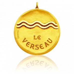 Medalla Zodiaco Símbolo de Acuario