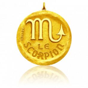 Medalla Zodiaco Símbolo Escorpio