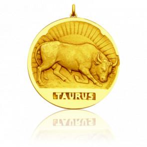 Medalla signo del zodiaco Tauro