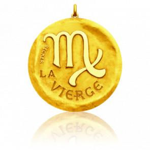 Medalla Zodiaco Símbolo de Virgo