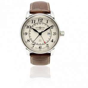 Reloj LZ127 Graf Zeppelin GMT Second Time Zone 7642-5