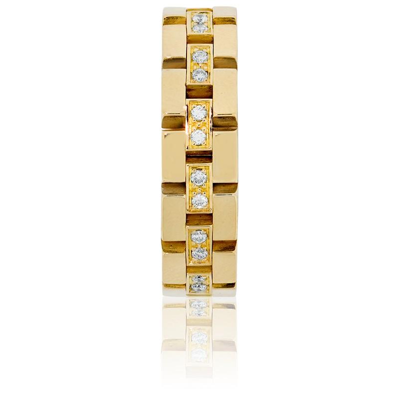 45bac0f365b2 Anillo Cadena de Oro Amarillo 18k de Angevine - Ocarat
