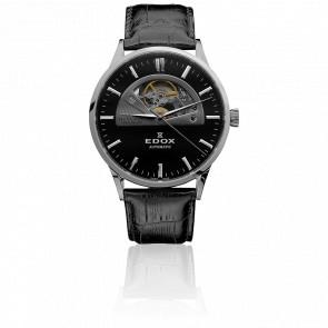 Reloj Les Vauberts Open Heart Automático 85014 3 NIN