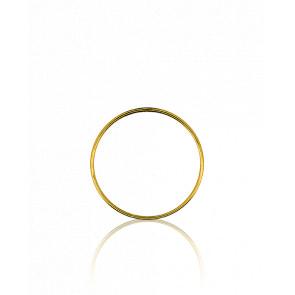 Colgante Círculo Oro amarillo Ø 17mm