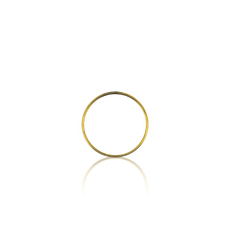 48c4ba1f4485 Colgante de Oro Amarillo diseño Circulo Ø 17mm - Ocarat