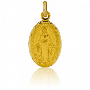 Medalla Milagrosa Oro Amarillo 9k