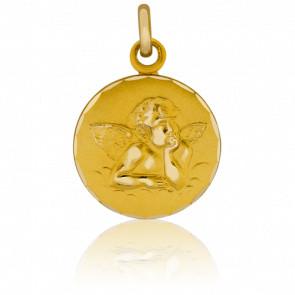 Medalla Oro Amarillo 9k Ángel Rafael