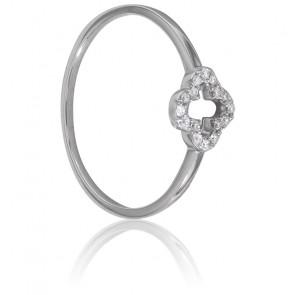 Anillo Flor de Diamantes
