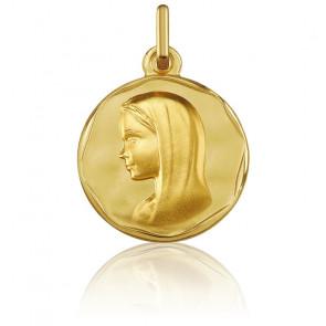 Medalla Virgen Oro amarillo 18k Argyor
