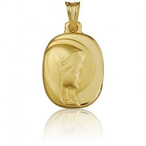 Medalla Virgen María Oro amarillo