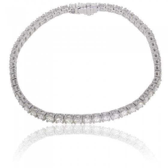 cb78095fe9f8 Pulsera de lujo Oro Blanco y Diamantes - Ocarat
