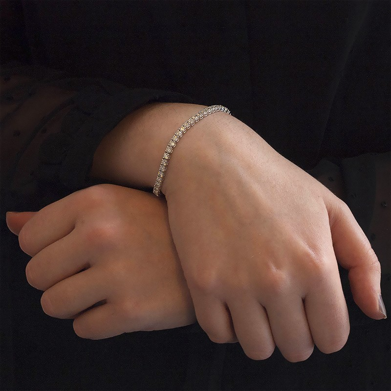 8c9b808004a6 Pulsera Pandora Oro Blanco Precio