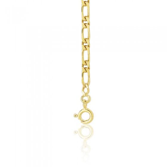 d7a143afb929 Cadena de Oro Amarillo Bilbao Maciza 60 cm - Manillon - Ocarat